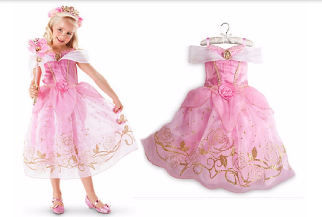 Doornroosje jurk Prinsessenjurk - Bij Bambini