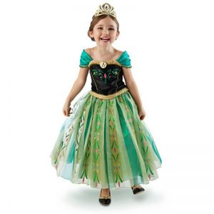 Anna jurk Frozen - Bij Bambini