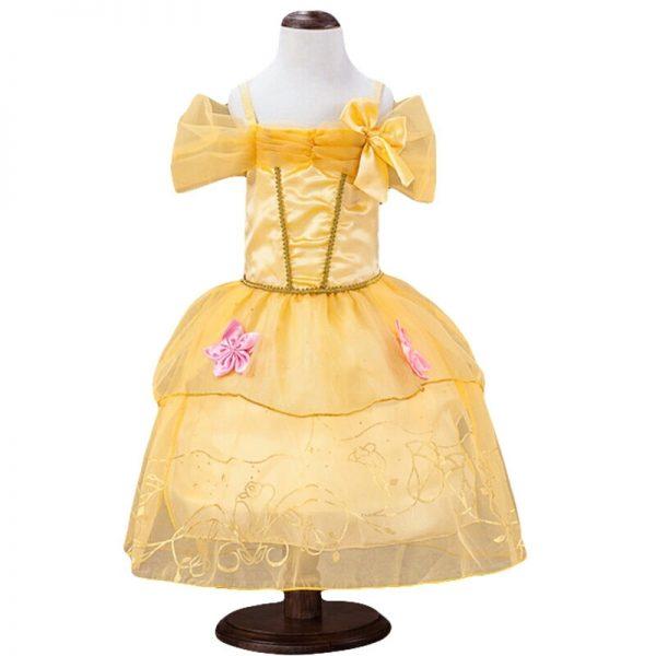 Belle jurk - Bij Bambini Verkleedkleding
