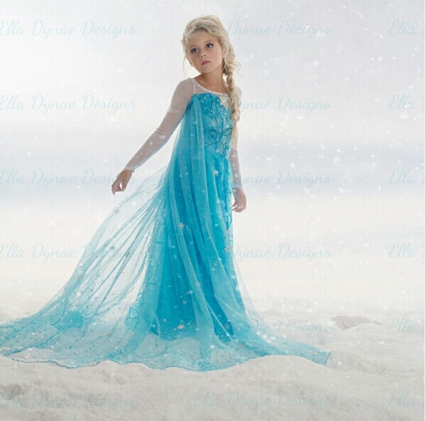 Frozen Elsa jurk - Bij Bambini