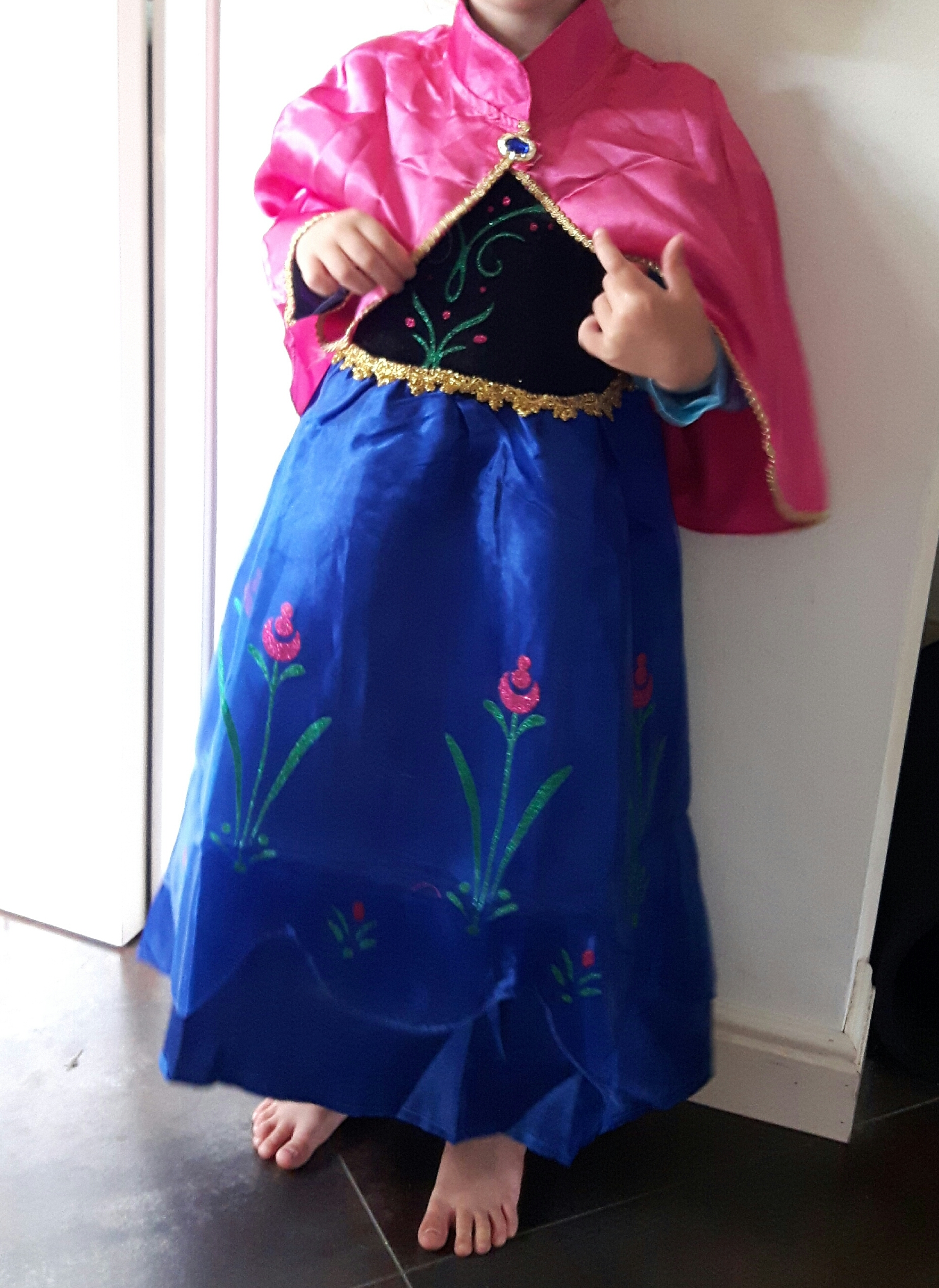 Frozen Anna jurk - Bij Bambini