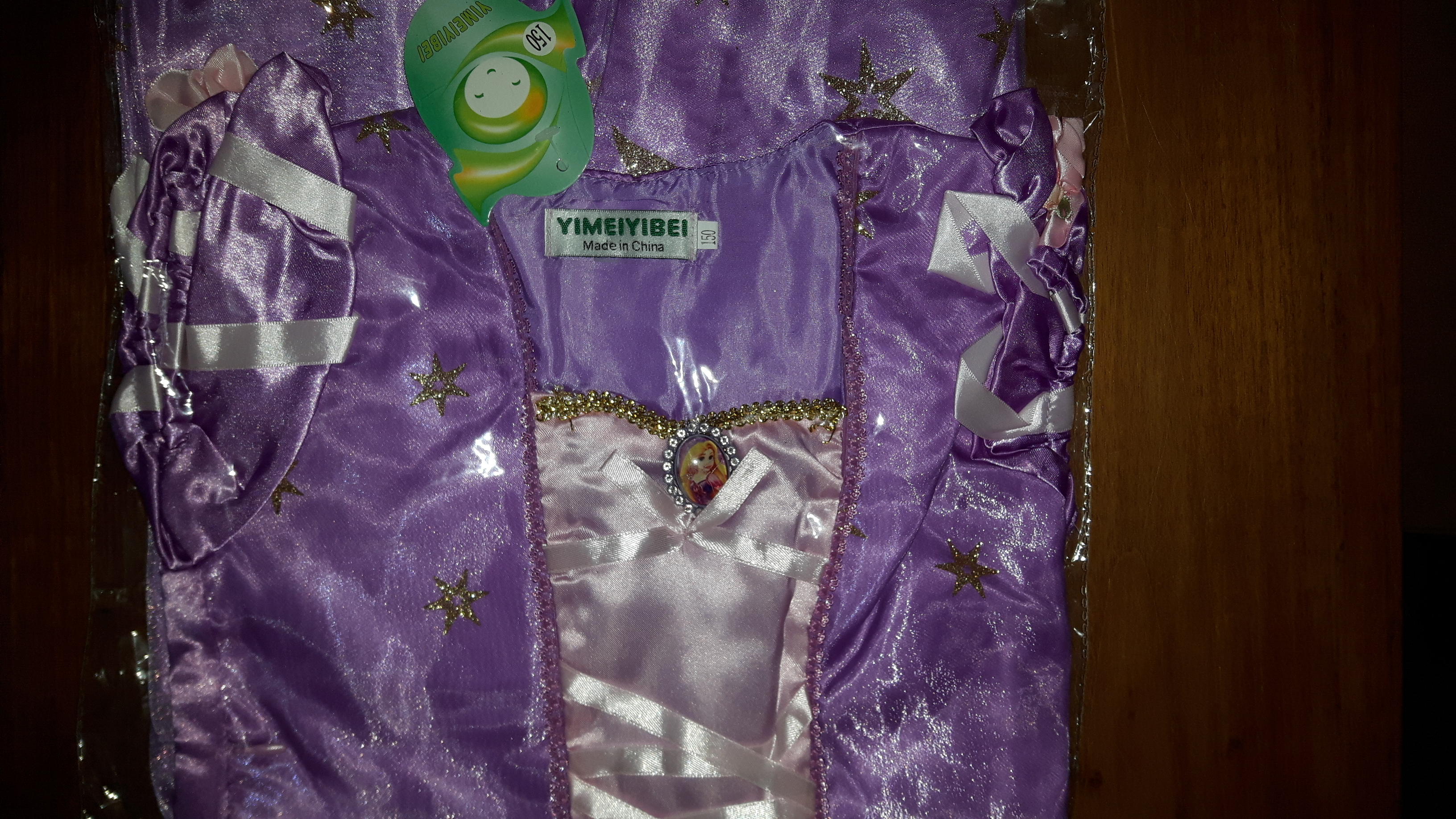 Rapunzel jurk - Bij Bambini