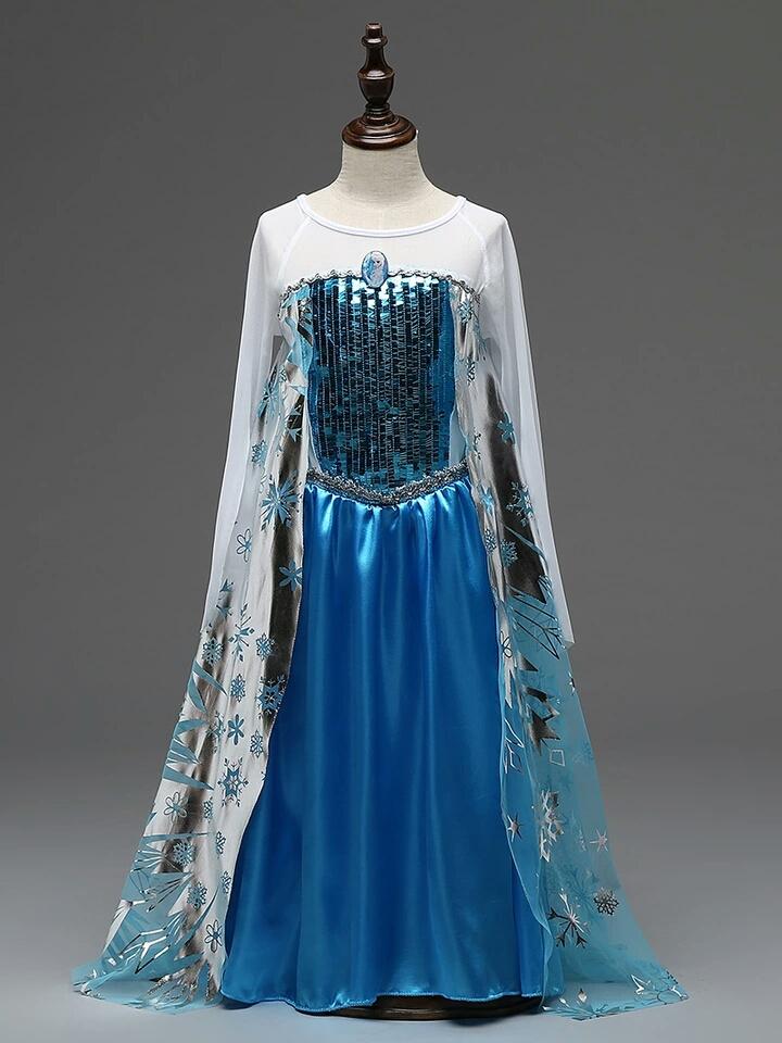 Frozen jurk - Bij Bambini
