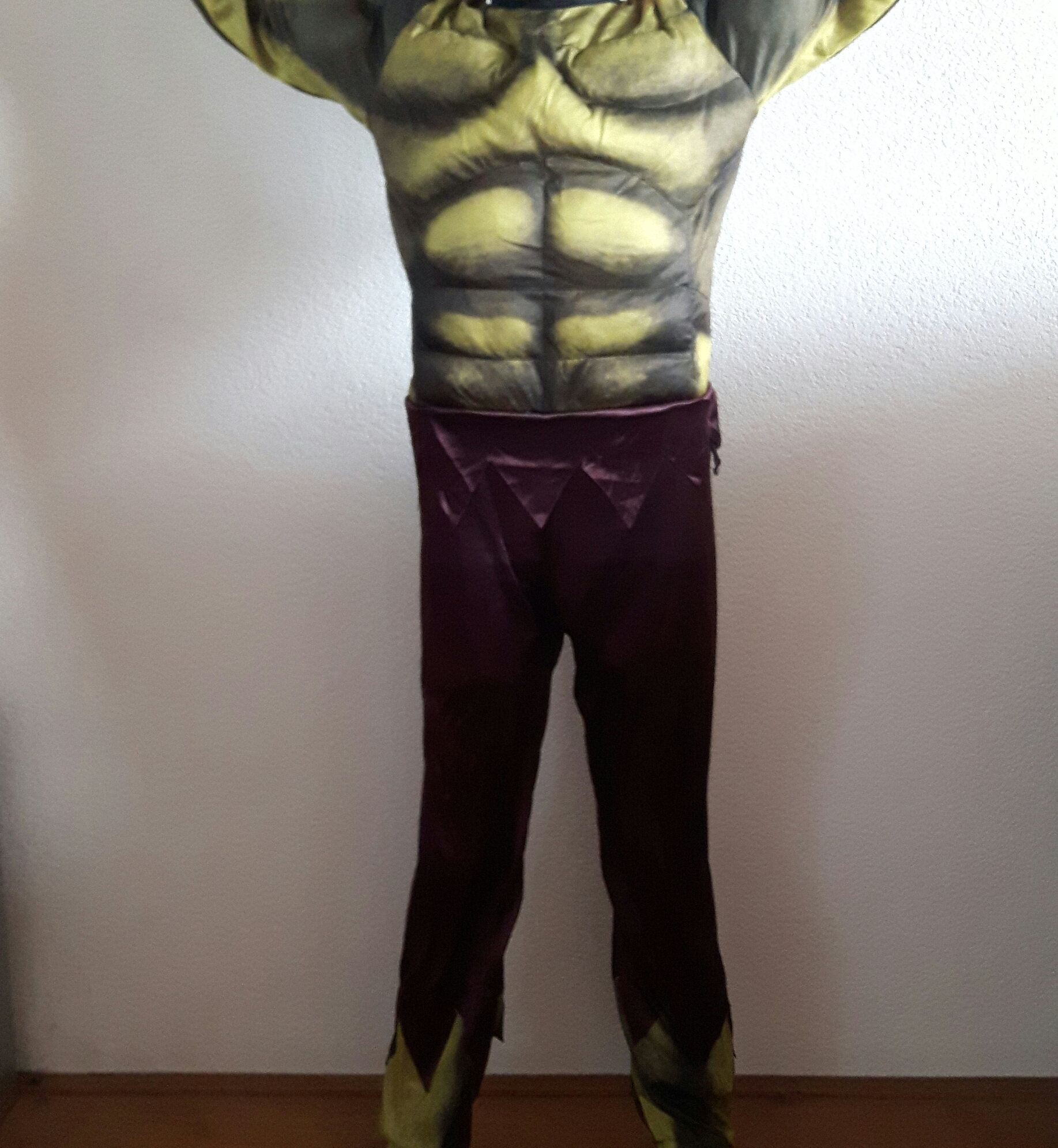 Hulk-pak in variant met paarse broek
