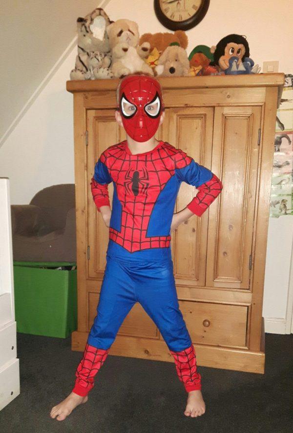 Tevreden klant - Spidermanpak - Bij Bambini