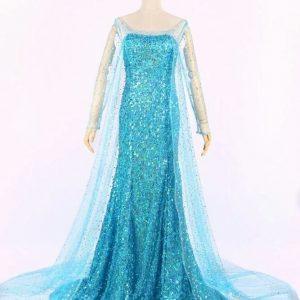 Frozen jurk Volwassen maten