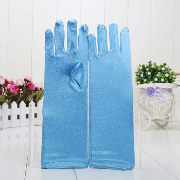 Blauwe Frozen handschoenen - Bij Bambini