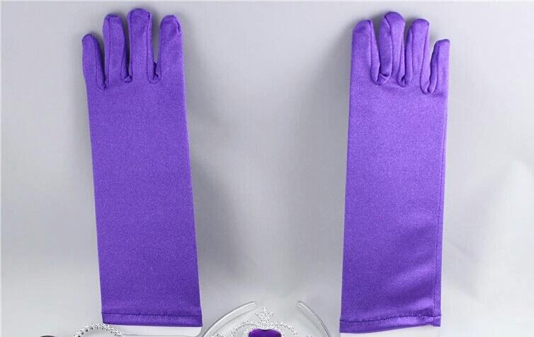 Frozen handschoenen Paars