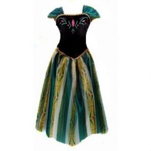 Frozen jurk Anna Volwassenen - volwassen maten - Bij Bambini