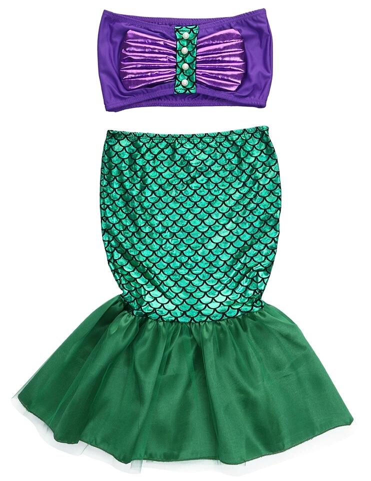 Kleine Zeemeermin kostuum - Bij Bambini
