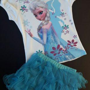 Frozen shirt en rok - Bij Bambini