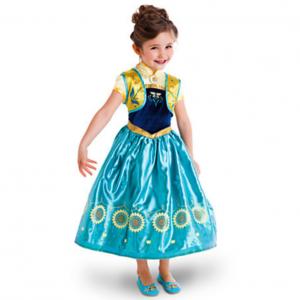 Frozen Fever jurk Anna - Bij Bambini