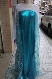 Elsa jurk Volwassen