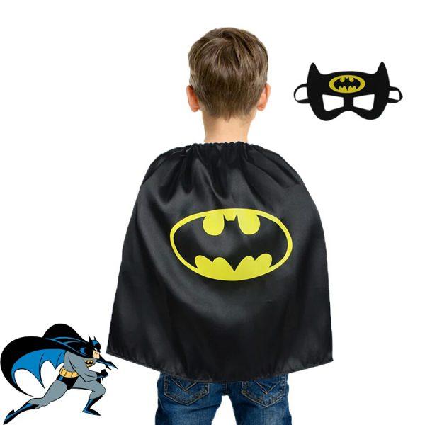 Batman pak - cape en masker - Bij Bambini