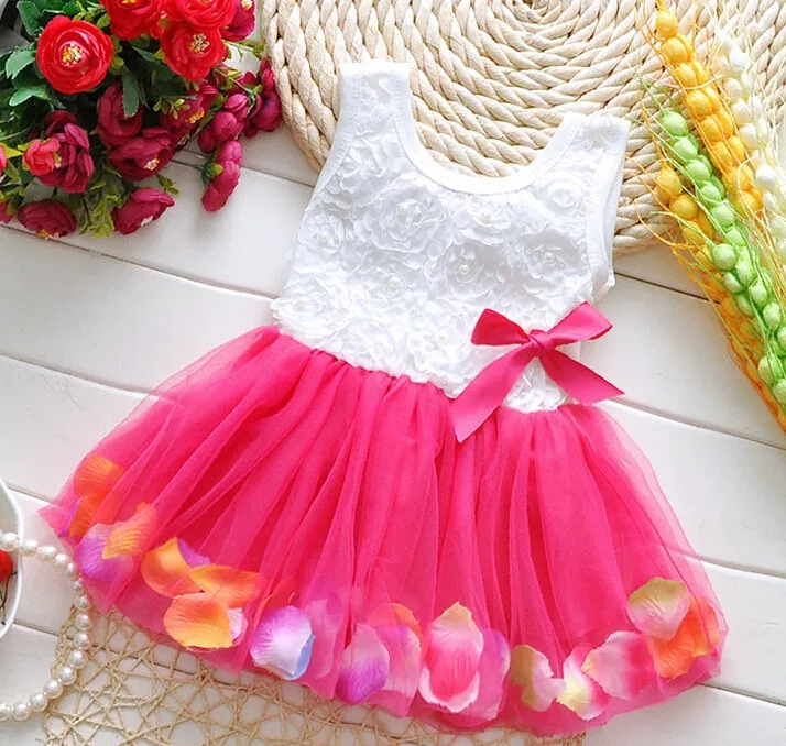 Feestjurk Baby en Dreumes - Bij Bambini Verkleedkleding