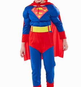 Superman-pak Spierballen - Bij Bambini Verkleedkleding