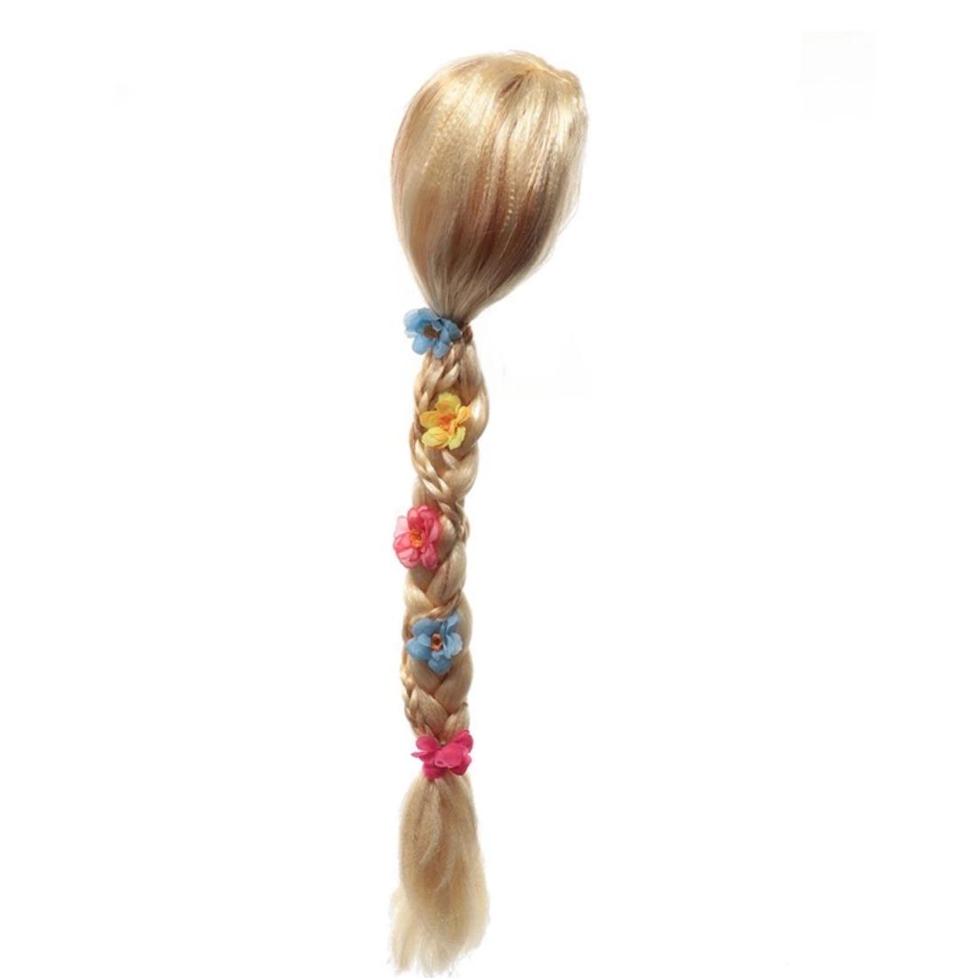 Rapunzel pruik vlecht